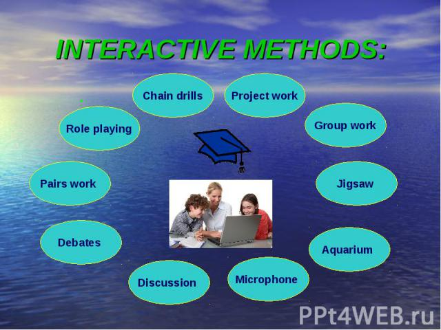 INTERACTIVE METHODS: