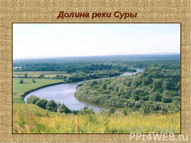 Долина реки Суры
