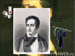 Byron ill with fever Byron ill with fever