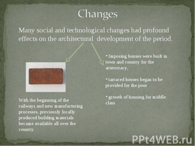 what technological changes has had the largest effect on life in this country Over the years, technology has been responsible for creating amazing resources, which literally put all the information we need right at our fingertips the advance of technology has made for some great discoveries, but at the same time has dramatically changed how we live our day-to-day lives.