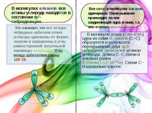 В молекуле этана (CH3–СH3) одна из семи σ- связей (С–С) образуется в результате