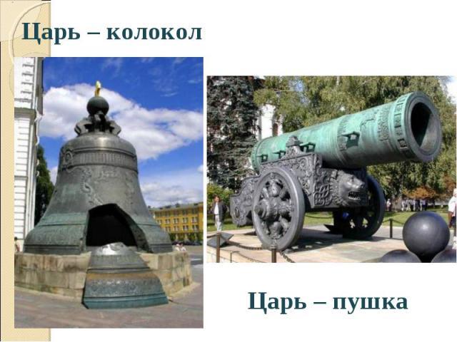 Царь – колокол Царь – колокол
