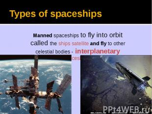 Types of spaceships