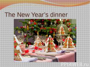 The New Year's dinner