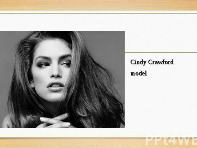 Cindy Crawford Cindy Crawford model