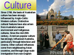 culture and influences