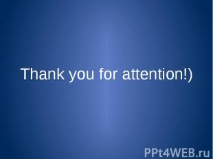 Thank you for attention!)