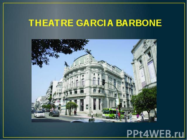 THEATRE GARCIA BARBONE