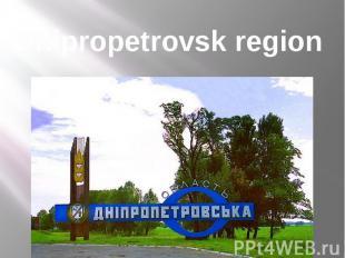 Dnipropetrovsk region