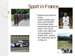 Sport in France