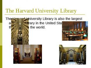 TheHarvard University Library TheHarvard University Libraryis