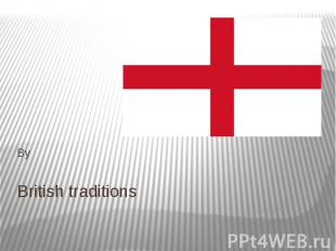 British traditions By
