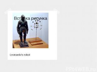 Leonardo's robot Leonardo's robot