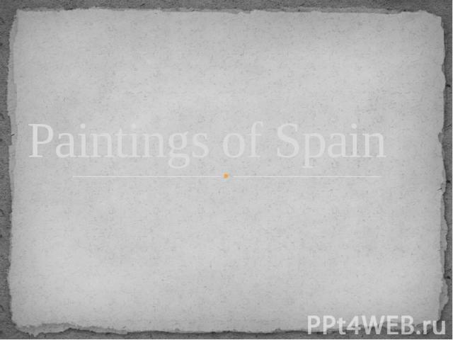 Paintings of Spain