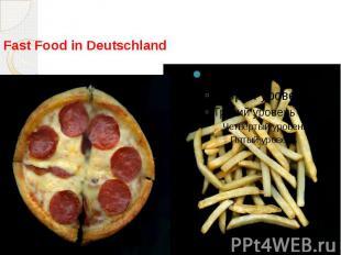 Fast Food in Deutschland