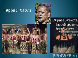Apps: Maori