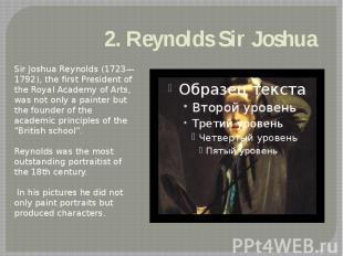 2. ReynoldsSirJoshua