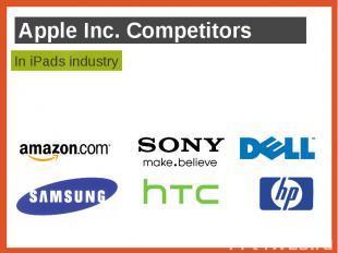 Apple Inc. Competitors