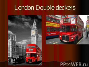 London Double deckers