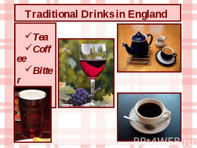 Tea Coffee Bitter Wine