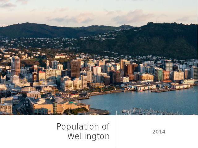 Population of Wellington 2014