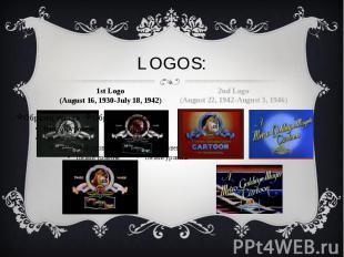 LOGOS: 1st Logo (August 16, 1930-July 18, 1942)