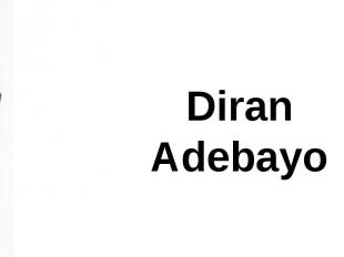 Diran Adebayo