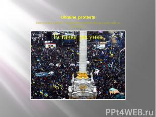 Ukraine protests Demonstrators gather in Independence Square during a mass rally