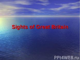 Sights of Great Britain