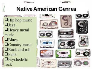 Native American Genres