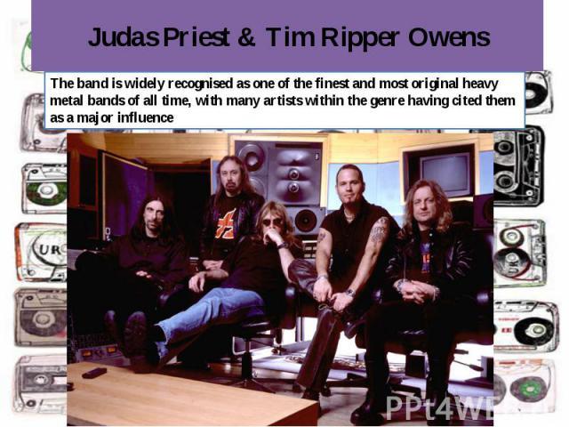 Judas Priest & Tim Ripper Owens