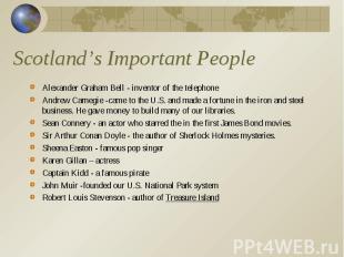 Alexander Graham Bell - inventor of the telephone Alexander Graham Bell - invent