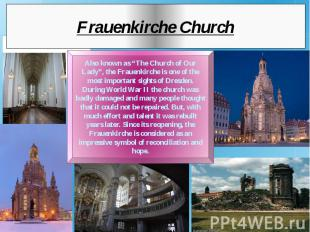 Frauenkirche Church
