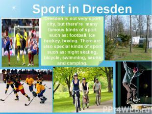 Sport in Dresden