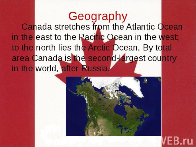 geography and history of canada Canadian history, civics & geography about canada about canada information divided by grade level, preschool through college this link to the kid zone, but you can navigate to others the canadian encyclopedia a part of historica canada, the largest independent (non-profit) organization dedicated to canadian history, culture, heritage.