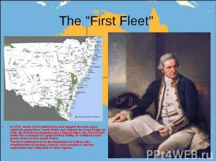 In 1770, James Cook sailed along and mapped the east coast, which he named New S