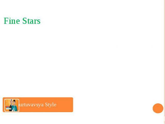 Fine Stars