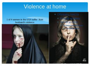 Violence at home