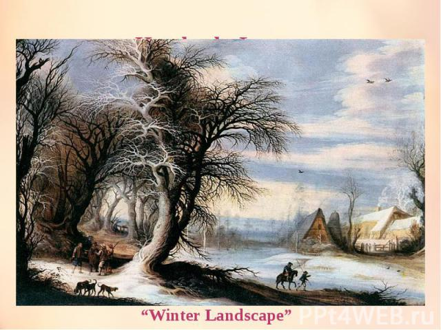"Heysbreht Leytens ""Winter Landscape"""