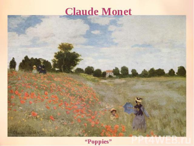 "Claude Monet ""Poppies"""