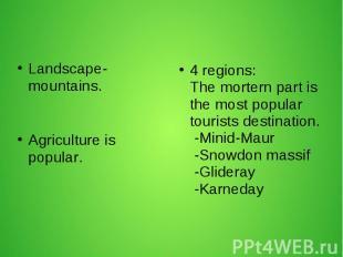 Landscape-mountains. Landscape-mountains.