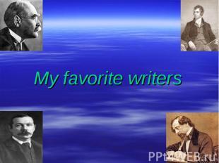Myfavorite writers