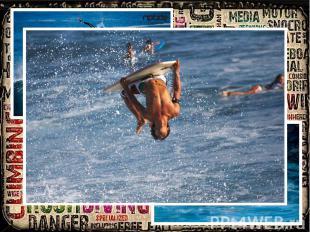 Bodyboarding Bodyboarding is a kind of wave surfing. But instead of surfboard u