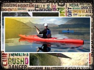 Canoeing Canoeing: extreme canoeing (a.k.a whitewater canoeing or whitewater rac