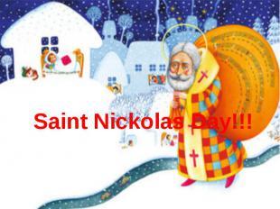 Saint Nickolas Day!!!