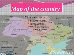 Map of the country