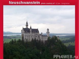 Neuschwanstein photo courtesy of Ellen Congleton