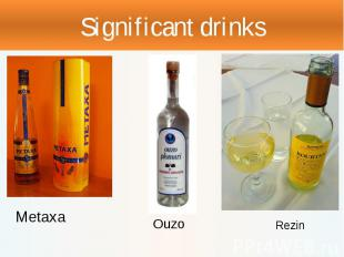 Significant drinks