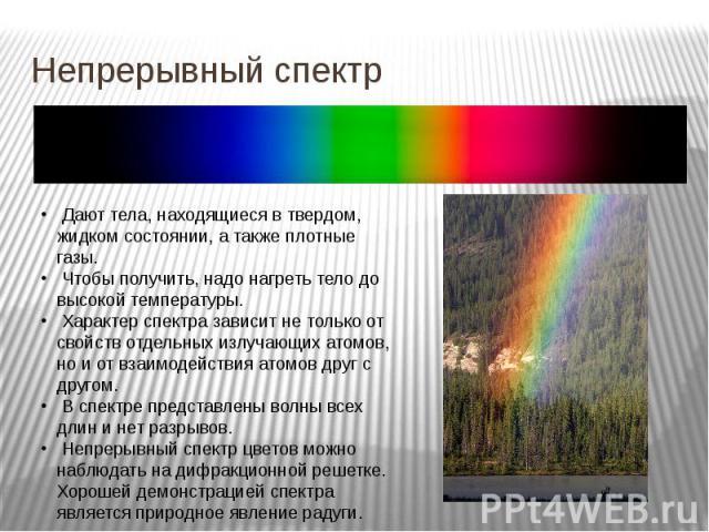 Непрерывный спектр