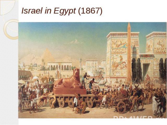 Israel in Egypt(1867)